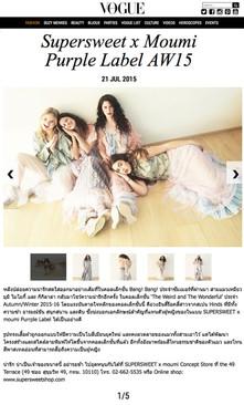 Vogue Thailand, 21 July 2015