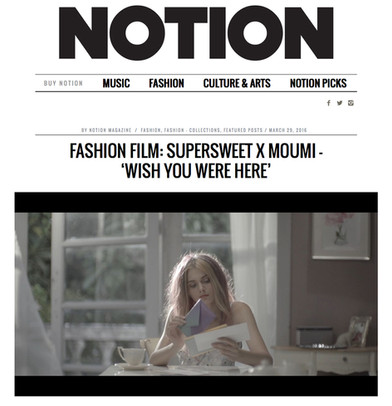Notion Magazine, March 2016