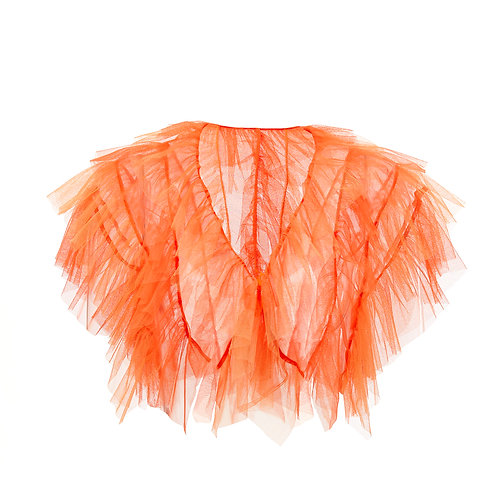 super sweet, supersweet, tulle, bolero, by moumi, moumi, frills, ruffles, orange, tangerine