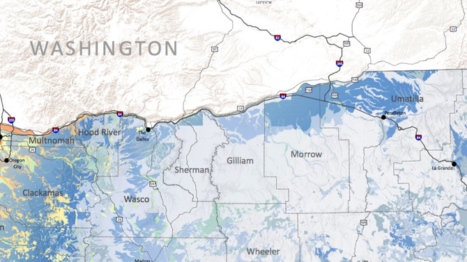 Predicting liquefaction extent in the Yakima Fold Belt