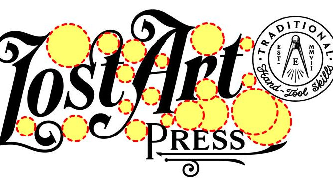 Improving Lost Art Press's New Logo