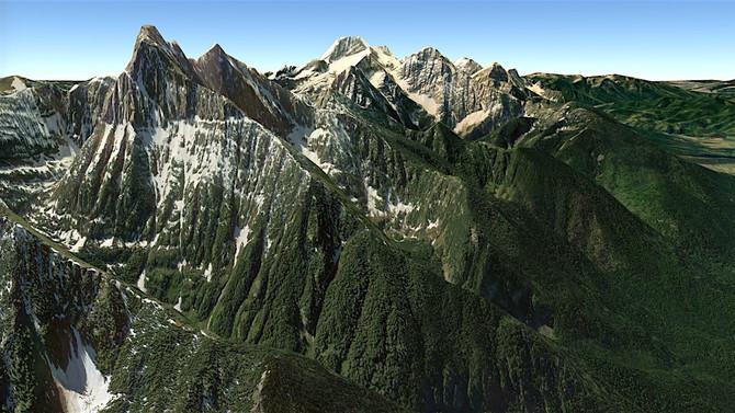 Mission Range Climbs: Mt. Calowahcan