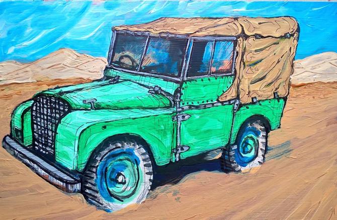 Land Rover #1
