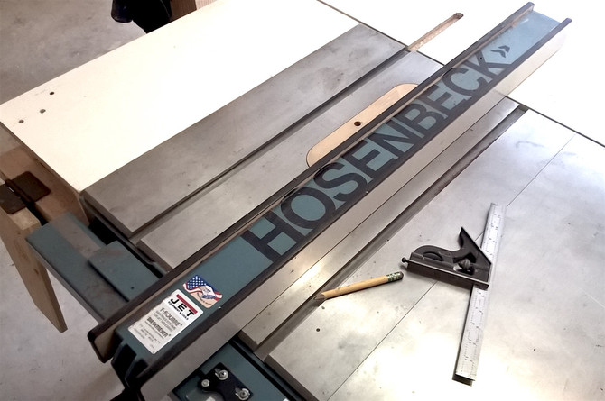 Ultimate Table Saw Fence by Hosenbeck