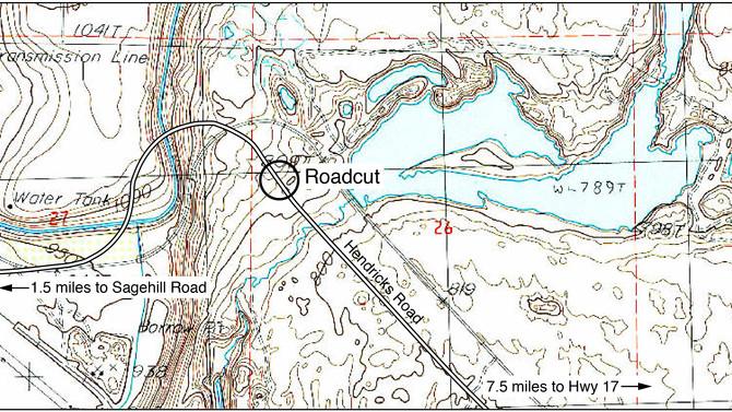 Calcrete Field Trip - Hendricks Rd