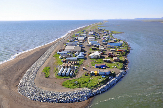 Are Alaskan Coastal Villages Well Located? A GIS Research Proposal