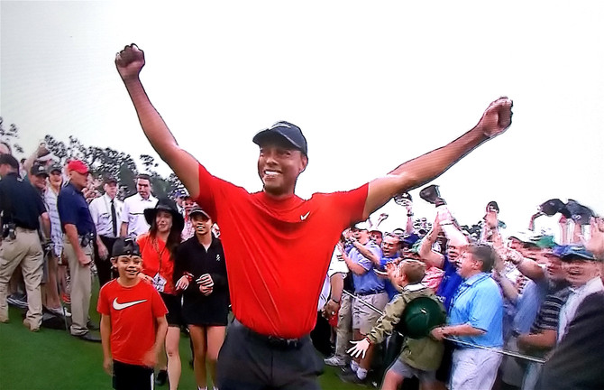 Tiger Wins 5th Masters!
