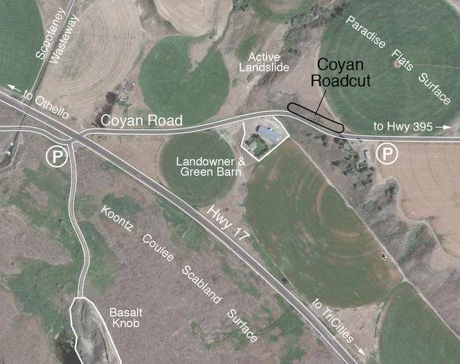 Calcrete Field Trip - Coyan Rd