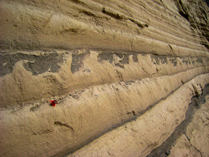 Soft Sediment Deformation in Touchet Beds