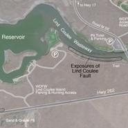 Lind Coulee Fault at O'Sullivan Reservoir