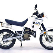 Honda NX250: Good design thinking
