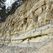 Flood and Slide Deformed Deposits at Priest River, ID