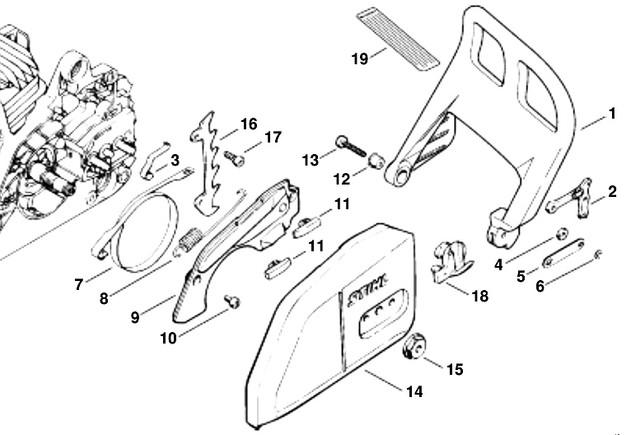 stihl fs 65 parts diagram