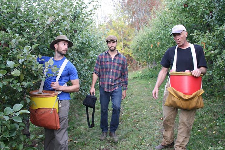 Sam, Joe, and Chas Mackay