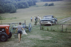 The old green truck, 1967