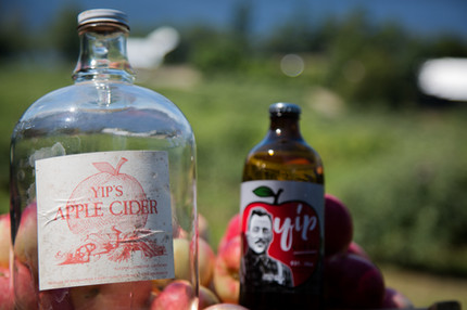 Yip's original bottle with the new original bottle