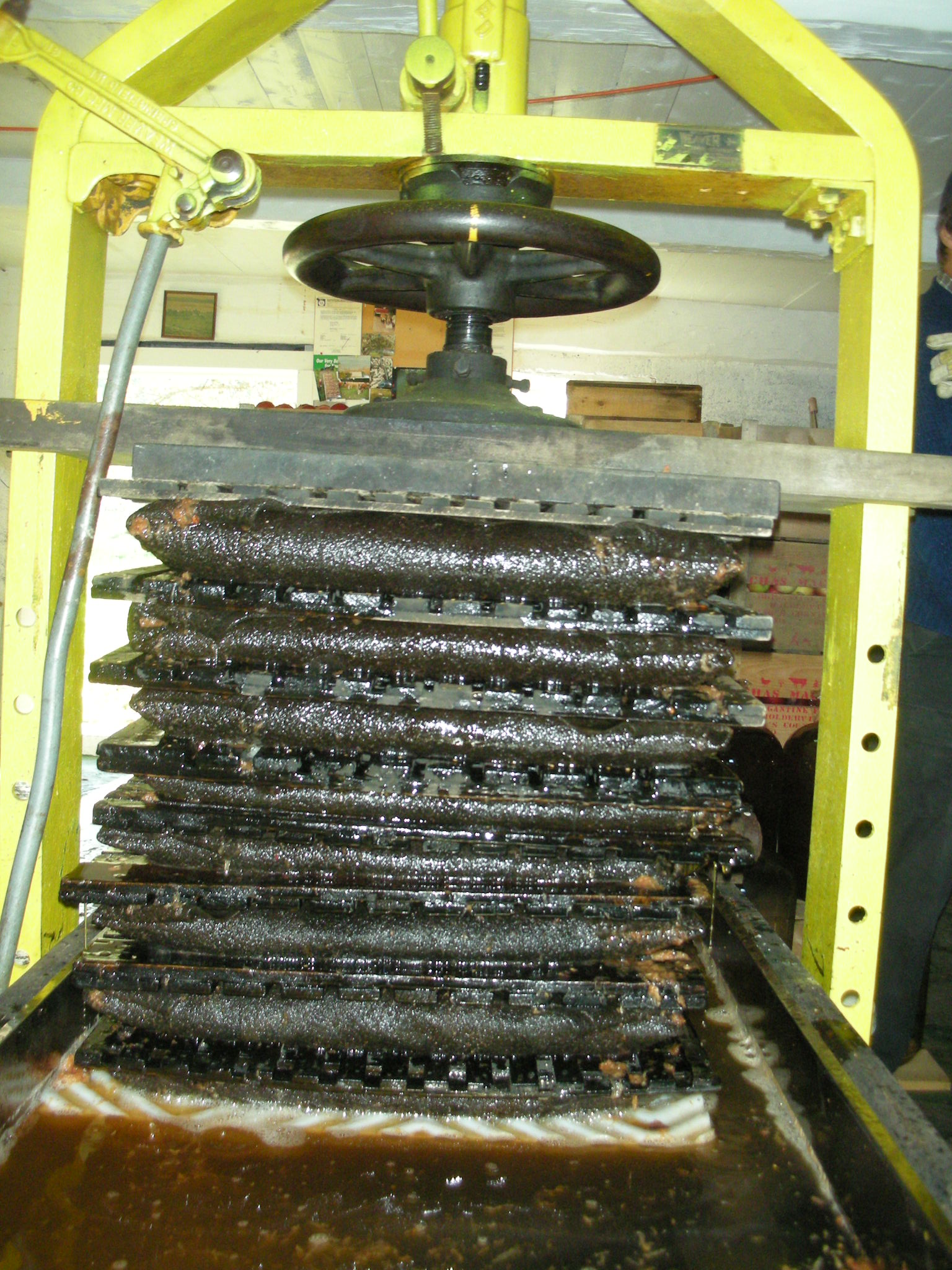 The Old Rack and Cloth Press