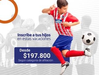 Atlético de Madrid Camp en Bogotá