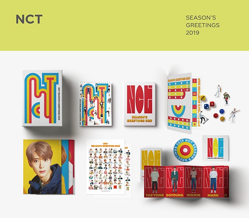 NCT 2019 SEASON'S GREETINGS