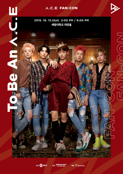 A.C.E ファンコンサート<To By An ACE> inSeoul