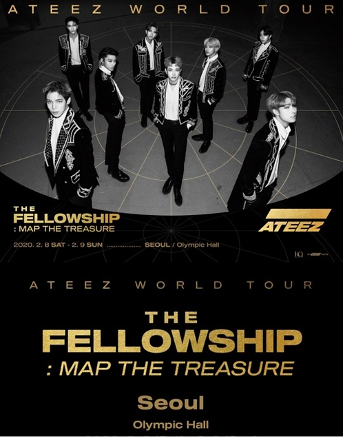 【予約】ATEEZ(에이티즈)World Tour[The Fellowship : Map The Treasure - Seoul]