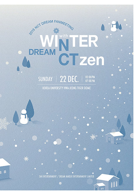 "【予約】2019 NCT DREAM FANMEETING ""WINTER DREAM with NCTzen DREAM"""