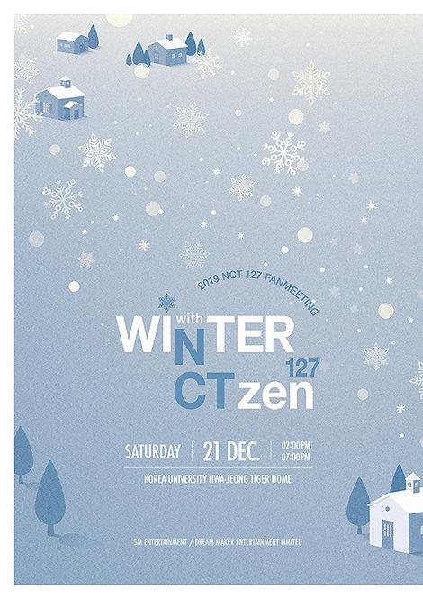 """【2次予約】2019 NCT127 FANMEETING """"WINTER 127 with NCTzen 127"""""""