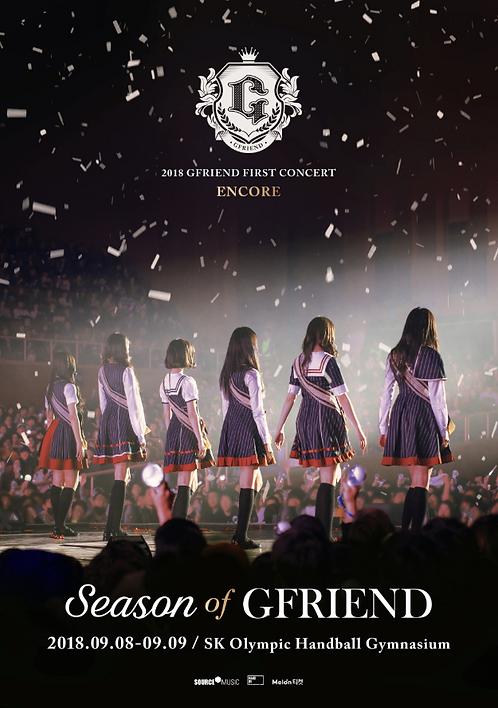 2018 GFRIEND FIRST CONCERT 'Season of GFRIEND' ENCORE