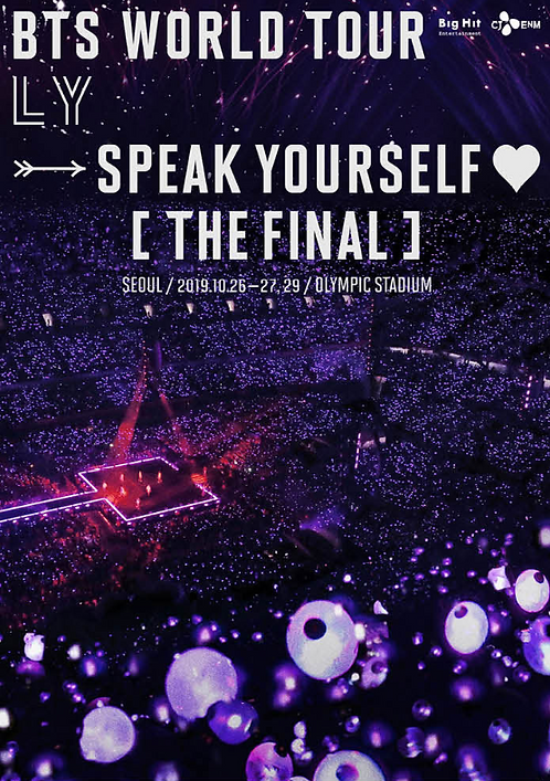 【予約】BTS WORLD TOUR ' LOVE YOURSELF: SPEAK YOURSELF ' [THE FINAL]