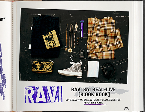 RAVI 3rd REAL-LIVE<R.OOK BOOK>