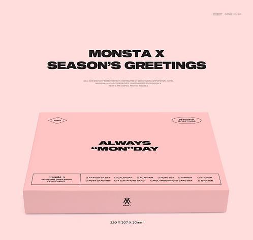 MONSTA X 2019 SEASON'S GREETINGS