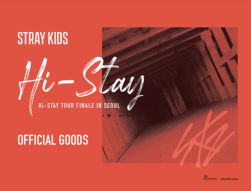 Stray Kids HI-STAY TOUR FINALE 公式グッズ購入代行