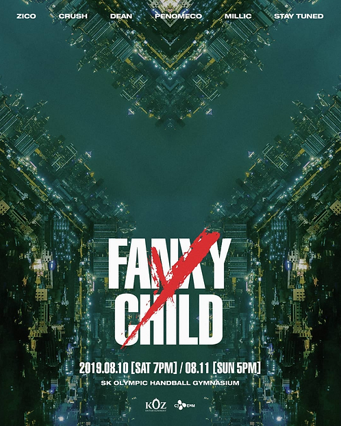【予約】ZICO with FANXY CHILD 'Y'