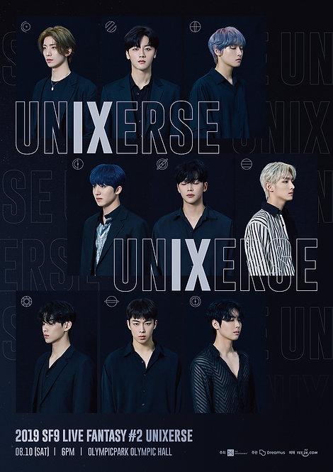 【予約】2019 SF9 LIVE FANTASY #2 UNIXERSE