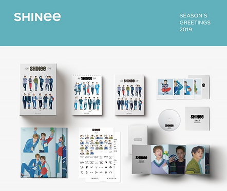SHINee 2019 SEASON'S GREETINGS