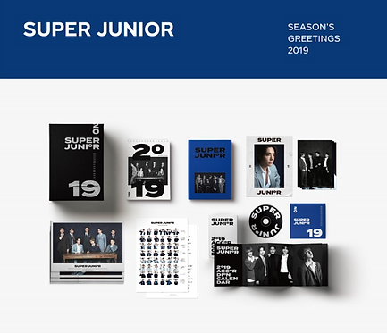 SUPER JUNIOR 2019 SEASON'S GREETINGS