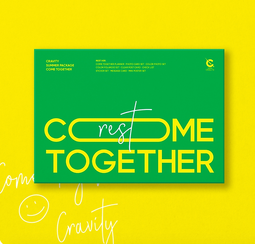 【予約販売】CRAVITY SUMMER PHOTOBOOK/PACKAGE`COME TOGETHER` 購入代行