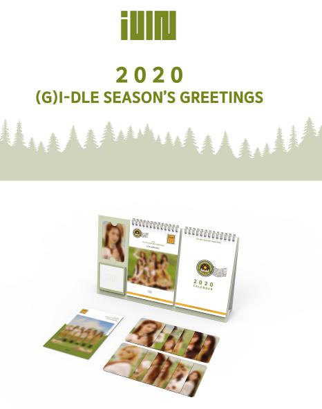 (G)I-DLE 2020 SEASON'S GREETING
