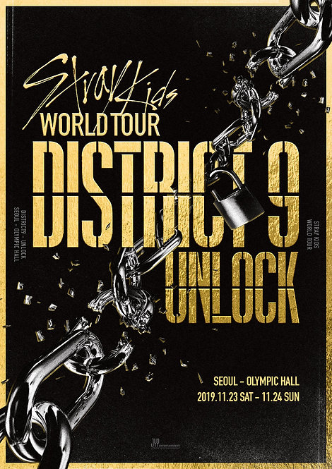 【予約】Stray Kids(스트레이 키즈) World Tour 'District 9 : Unlock' in SEOUL