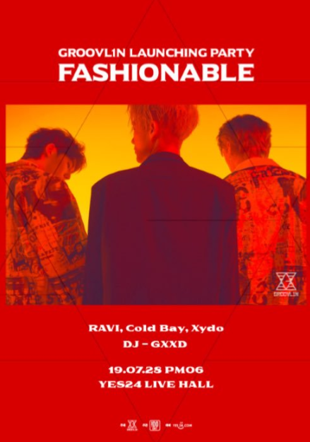 "【予約】GROOVL1N LAUNCHING PARTY ""FASHIONABLE"""
