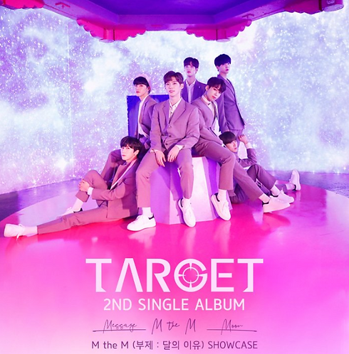 TARGET 2ND SINGLE ALBUM<M the M(月の理由)>ショーケース