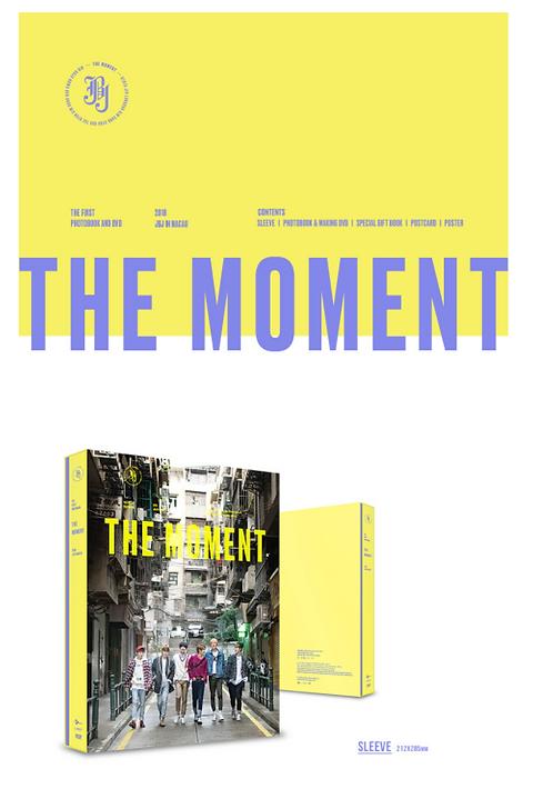JBJ 1st PHOTOBOOK<THE MOMENT>予約購入代行