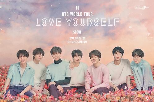 【2階席限定予約】BTS ワールドツアー<LOVE YOURSELF>inソウル