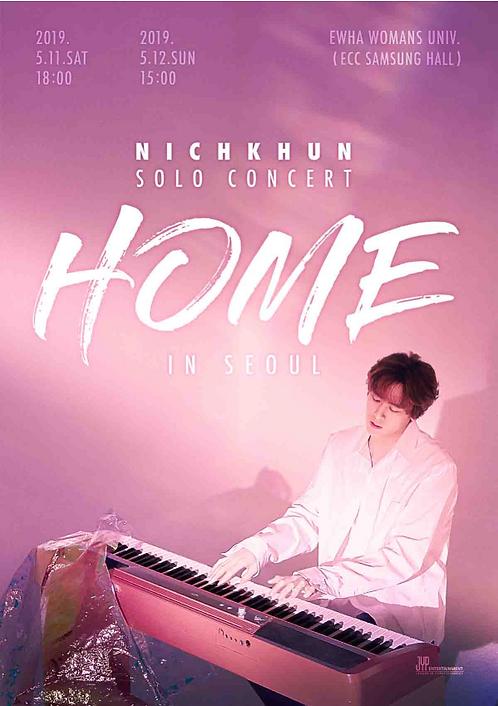 NICHKHUN SOLO CONCERT 'HOME' IN SEOUL
