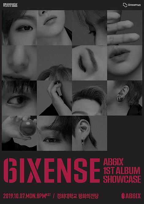 【予約】AB6IX 1ST ALBUM 6IXENSE SHOWCASE