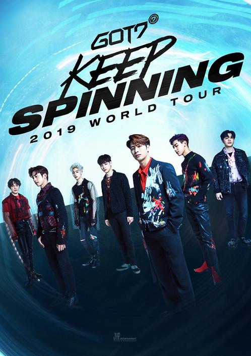 GOT7 2019 WORLD TOUR 'KEEP SPINNING' IN SEOUL