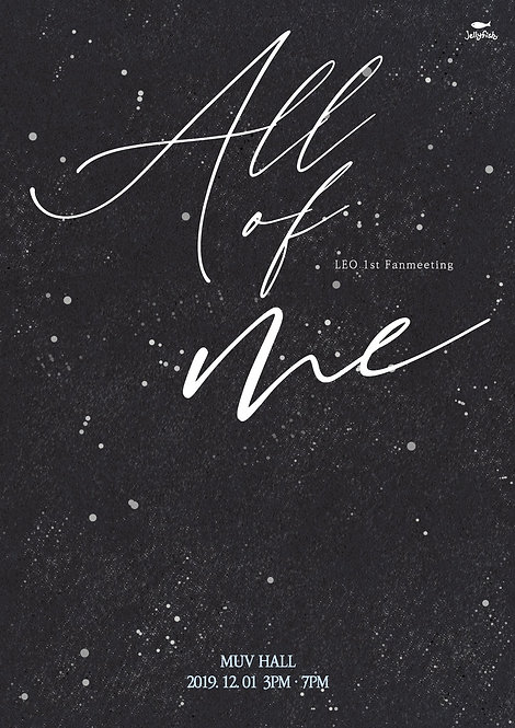 【予約】VIXX LEO 1st FANMEETING 'All of me'