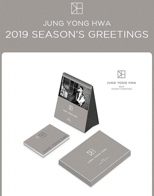 チョン・ヨンファ 2019 SEASON'S GREETINGS