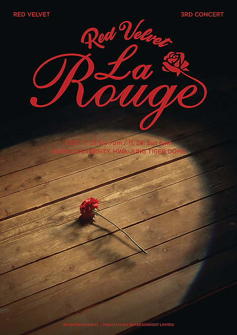 【予約】Red Velvet 3rd Concert - La Rouge
