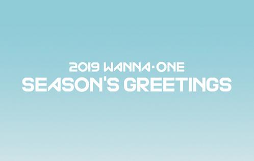 Wanna One 2019 SEASON'S GREETINGS